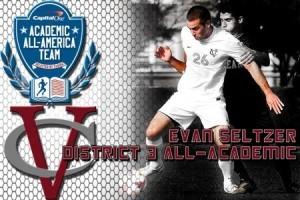 Congrats Evan!  Capital 1 All District Academic Team