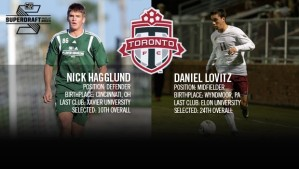Danny gets drafted by Toronto FC of MLS